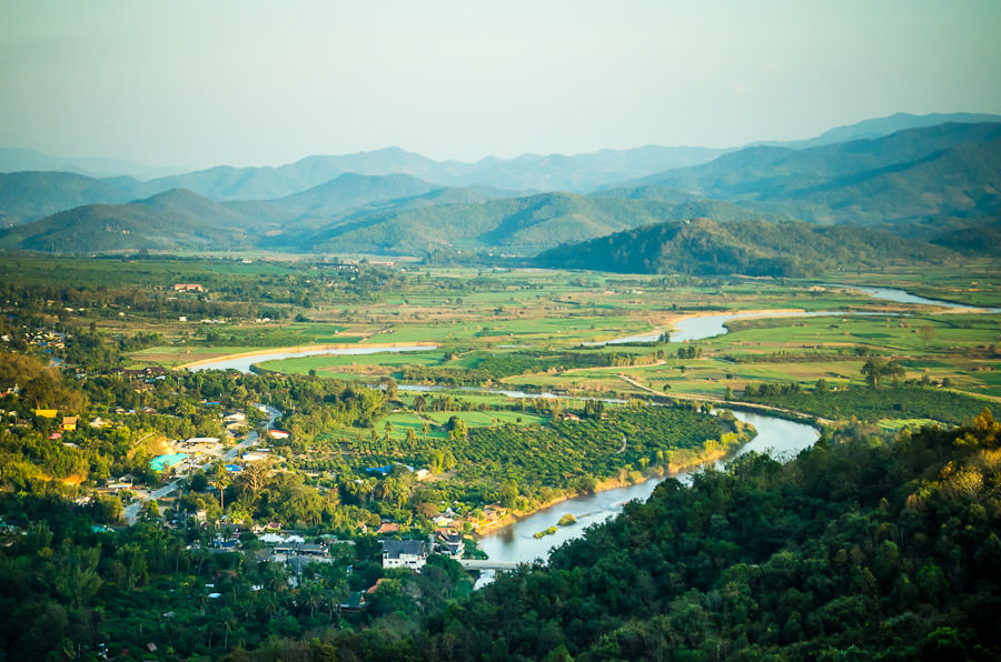 Thaton valley, Thailand.