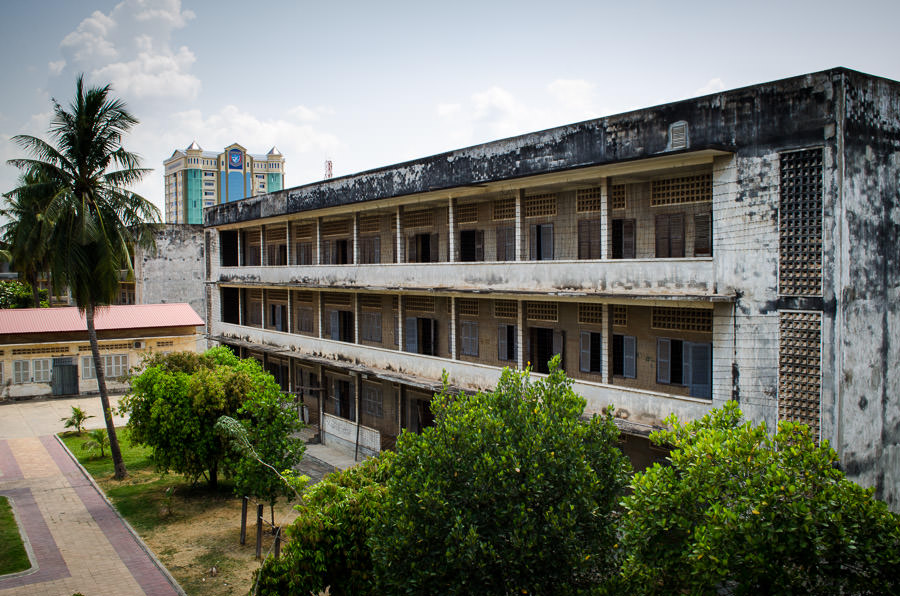 Tuol Sleng Prison in Phnom Penh is better known as S-21. It held prisoners during the Khmer Rouge takeover in 1975-1979