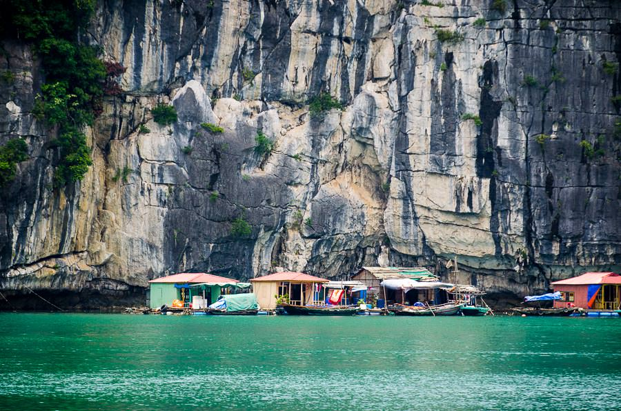 Cong Dam Fishing Village in Ha Long Bay