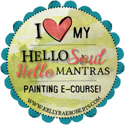 I love my Hello Soul, Hello Mantras Painting e-course!